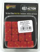 Bolt Action 408404001 Soviet Union D6 Pack (16 Dice) Red & Yellow WWII Russia