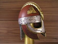 18 GAUGE Medieval Valsgrade Helmet Vendal Etched Helmet Knight Halloween Costume