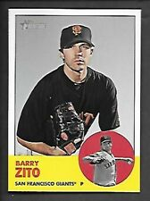 BARRY ZITO    2012 TOPPS HERITAGE SP #474    SAN FRANCISCO GIANTS