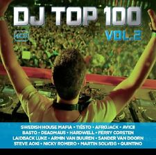DJ TOP 100 VOL.1 (TIESTO, AFROJACK, R3HAB, MARTIN GARRIX, AVICII,...) 5 CD NEU