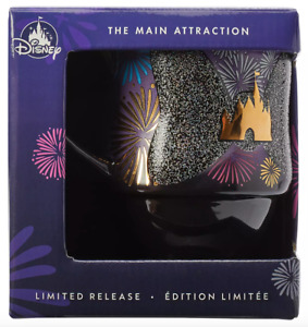 Disney Minnie Mouse Mug The Main Attraction december castle Nighttime Fireworks