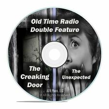 THE UNEXPECTED, THE CREAKING DOOR ALL KNOWN 303 EPISODES, Old Time Radio DVD F73