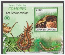 0227 Comores 2009 Insects duizendpoot centipede S/S Mnh
