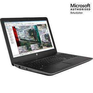 """REFURB -15.6"""" HP ZBook Studio G3 Intel Xeon E3, 512GB, 32GB,TOUCH,W10P, 1YR WTY"""