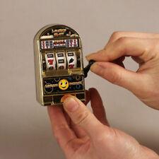 MINI LUCKY SLOT MACHINE GAME ARCADE BANDIT TOY BIRTHDAY PRESENT PARTY BAG FILLER