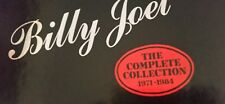 Billy Joel 10 record box set 1971 -1984 never played in near mint cond