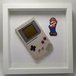 Nintendo Gameboy Classic 1989 Vintage idea regalo Nerd quadro espositivo