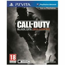 Call Of Duty Black Ops Declassified Game PS Vita Brand New In Stock