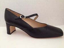 Talbots Shoes Womens Size 6 Wide Black Heels 6W Pumps