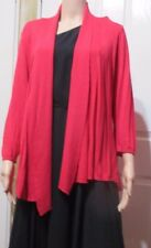 Ladies Rockmans Bright pink Cardigan Swing style  size L