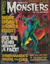FAMOUS MONSTERS OF FILMLAND # 37 1965 CLASSIC 20 MILLION MILES TO EARTH COVER
