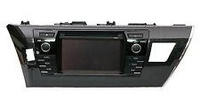 OEM Toyota Corolla CD Player Radio Fascia Panel Bezel Frame trim Shining Black