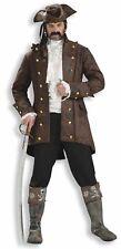Pirate Jacket Costume Buccaneer Carribean Captain Coat Adult Men Standard Size