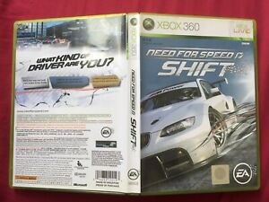 XBOX 360 NEED FOR SPEED SHIFT NTSC-J ENGLISH 2009 TESTED WORLD FREE POST