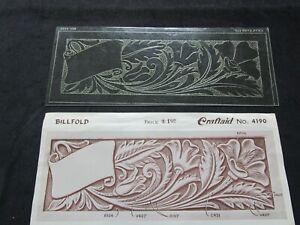 Vintage Leather Billfold Craftaid No. 4190