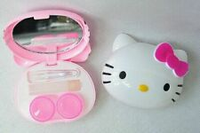 New Cute HelloKitty Design Contact Lens Case Soak Storage Cosmetic Box ly-D27A7