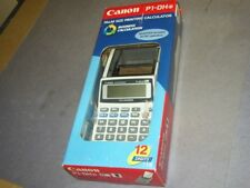 Canon P1-Dh Palm Sized Printing Calculator - Brand New 21C3