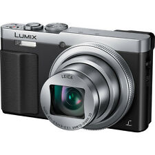 Panasonic DMC-ZS50S LUMIX 30X Travel Zoom Camera with Eye Viewfinder Silver NEW!