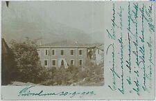 CARTOLINA d'Epoca LECCO - Primaluna 1903  FOTOGRAFICA