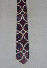 Vintage 50 - 60's Men's Skinny Necktie Castello Chatillon Cravatta