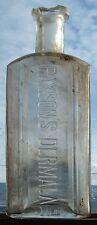 Early western PAXSON'S DERMALA bottle Paxson Rockefeller Drug Co BUTTE MONTANA