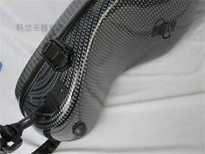 Nice black color Camber modle carbon fiber composite material violin case 4/4