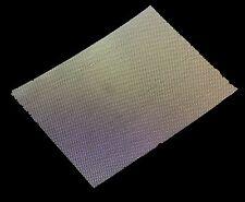 #18 x 0.42mm FILO X 1mm Foro KANTHAL (fecral Lega) in tessuto rete metallica-FOGLIO a5
