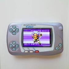 Bandai WonderSwan Color Pearl Blue Purple Console IPS LCD Screen Modification