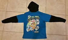 STAR WARS ANGRY BIRDS  10/12 Long Sleeve Hooded Shirt Blue/Navy Force Hoodie