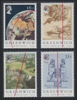 Great Britain Greenwich Meridian Astronomy 4v MNH SG#1254-1257 SC#1058-1061