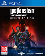 Wolfenstein Young Blood Deluxe Ed PS4