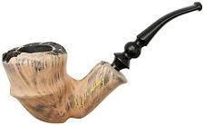 """Erik Nording Handmade Smoking Pipe """"Signature Black"""""""