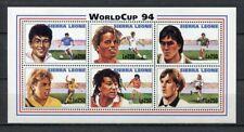 s7022) SIERRA LEONE 1994 MNH** WC Football'94 - CM Calcio S/S