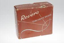 Revere Curve A Matic 8mm Movie Film Cutter Splicer IN ORIGINAL BOX Heavy Duty