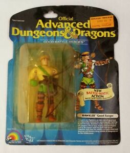 Advanced Dungeons & Dragons LJN GOOD RANGER HAWKLER VERY RARE! D&D Battle-Matic!