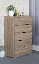 K16012 Smart Home Dark Taupe Utility Storage Organizer 5 Drawer Chest Dresser