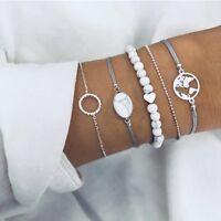 sets herz - / karte manschette armreifen armband leere anhänger perlen - kette