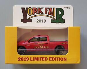 Greenlight - Ram 1500 HEMI York Fair 2019 Station 51 1/64 Diecast