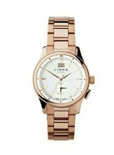 Links Of London Regent Rose Gold Mens Watch 18 ct 6020.1152 Bnib Chronograph