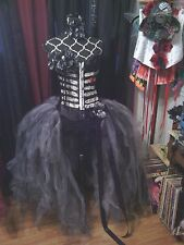 DIA DE LOS MUERTOS, day of the dead, costume, burlesque, Made to order Sz S-XL