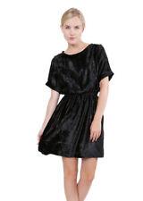 Machine Washable Velvet Casual Dresses for Women
