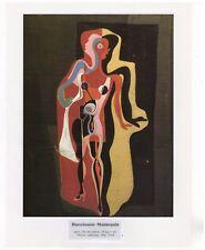 "SALVADOR DALI  Print Book Plate 9x12--""Barcelonese Mannequin"" 1927"