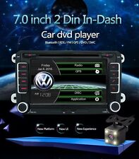 "7"" 2 din Car DVD GPS radio player for Volkswagen VW golf 4 golf 5 6 touran passa"