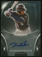 TIM ANDERSON 2013 Bowman Sterling AUTO Chicago White Sox Autograph