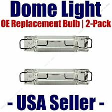 Dome Light Bulb 2-Pack OE Replacement - Fits Listed Pontiac Vehicles - 561
