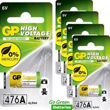 5 x GP 4LR44 6V Alkaline Batteries 476A A544 PX28A L1325 Dog Training Collar