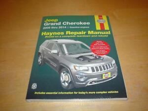 HAYNES JEEP GRAND CHEROKEE (05-14) Owners Workshop Service Manual Handbook Book