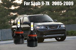 LED For SAAB 9-7X 2005-2009 Headlight Kit H11 6000K White CREE Bulbs Low Beam