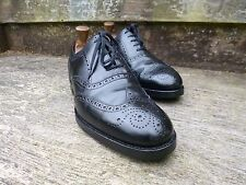 CHEANEY / CHURCH BROGUE – BLACK  - UK 7.5 –  EXCELLENT CONDITION