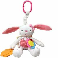 New Handbell Kids Baby Lathe Hanging Cartoon Plush Educational Toys Pram Bed Toy